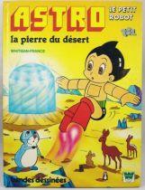 Astro le petit robot - Livre Whitman Editions TF1 - La pierre du désert