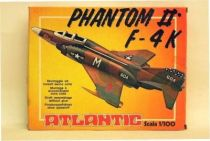Atlantic 1:100 451  USAF Phantom 2 F- 4K