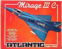 Atlantic 1:100 452 French plane Mirage 3E