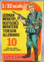 Atlantic 1/32 WW2 2101 Infanterie Allemande Neuf Boite Scellée
