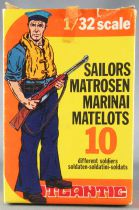 Atlantic 1/32 WW2 2102 Marins Matelots Italiens Neuf Boite