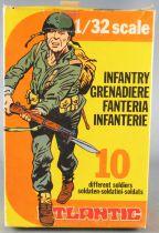 Atlantic 1/32 WW2 2113 Infanterie Grenadier Italien Neuf Boite