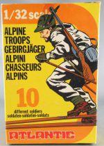 Atlantic 1/32 WW2 2114 Chasseur Alpin Troupe Montagne Italien Neuf Boite