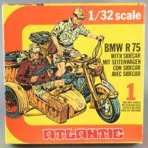 Atlantic 1/32 WW2 2151 Bmw R75 & Sidecar Moto Allemande Scwimmwagen Neuf Boite 2