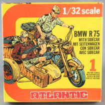 Atlantic 1:32 WW2 2151 German Bmw R75 & Sidecar Motorcycle Mint in Box 2