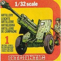 Atlantic 1:32 WW2 2152 Field Artillery
