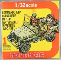 Atlantic 1/32 WW2 2154 Jeep US Neuf Boite 1