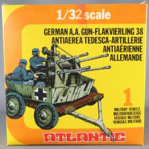 Atlantic 1:32 WW2 2160 German A.A. Gun-Flakvierling38 Mint in Box