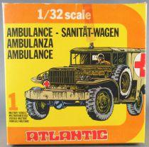 Atlantic 1/32 WW2 2161 Ambulance en Boite