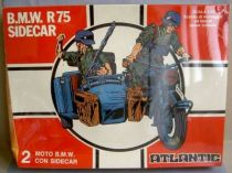 Atlantic 1:32 WW2 61 Motorcycle B.M.W. & Sidecar