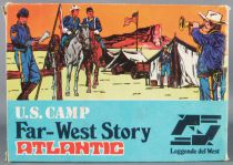 Atlantic 1:72 1007 Us Cavalry Field Camp 68 Pieces with Box