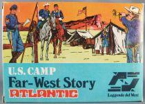 Atlantic 1:72 1007 Us Cavalry Field Camp Mint in Box