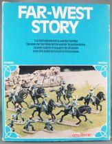 Atlantic 1:72 1559 Confederates Army Cavalry 64 Pieces with Box