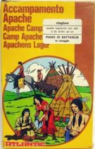 Atlantic 1:72 4004 Apache Camp loose with box