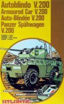 Atlantic 1:72 4603 Armored car  V200