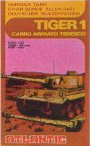 Atlantic 1:72 4606 German Tank Tiger1