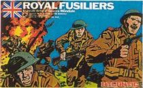 Atlantic 1:72 53 Royal Fusilliers Mint in Box