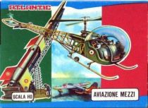 Atlantic 1:72 9014 Helicopter and Rocket