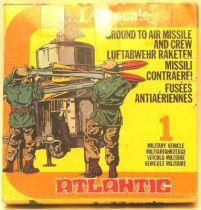 Atlantic 32ème 2ème guerre mondiale 2156 fusées anti aériennes