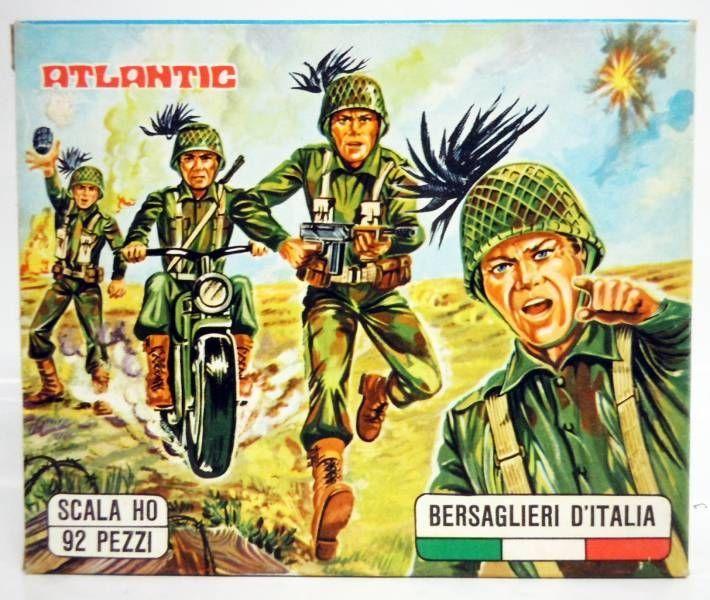 Atlantic 72eme 10001 Bersagliers Italiens
