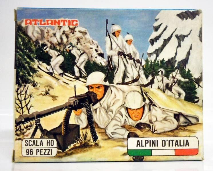 Atlantic 72eme 10002 Chasseurs Alpins Italiens