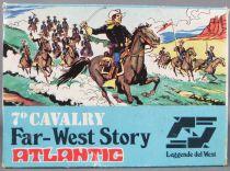 Atlantic 72eme 1004 7° Cavalry 40 Pièces Très Bon Etat en Boite