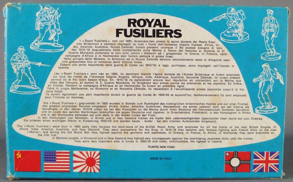 Atlantic 72eme 53 Royal Fusilliers 80 Pièces boite