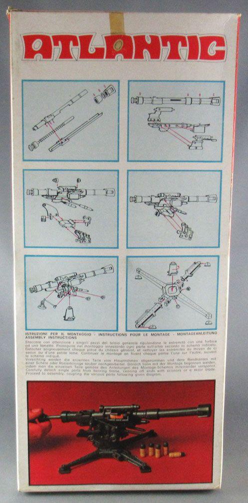 Atlantic 72eme 690 2 Canons qui Tirent Connoni Sparanti Neuf Boite