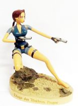 Atlas - Tomb Raider - 5\'\' statue - Lara Croft the Angel of Darkness, Prague