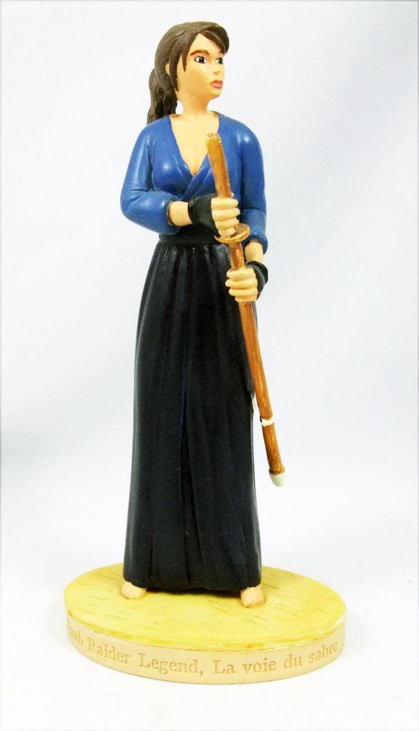 Atlas - Tomb Raider - Statue 15cm  - Lara Croft - Tomb Raider Legend, la Voie du sabre