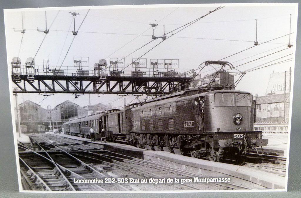 Atlas 5 Cartes Postales Sncf Electric Locomotives BB-115 2D2 2CC2 Mint