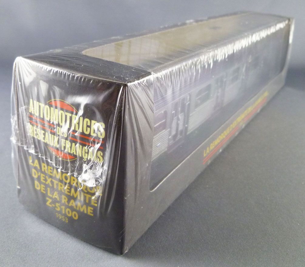 Atlas Ho Sncf End Coach for Z-5100 Suburban Train Mint in box