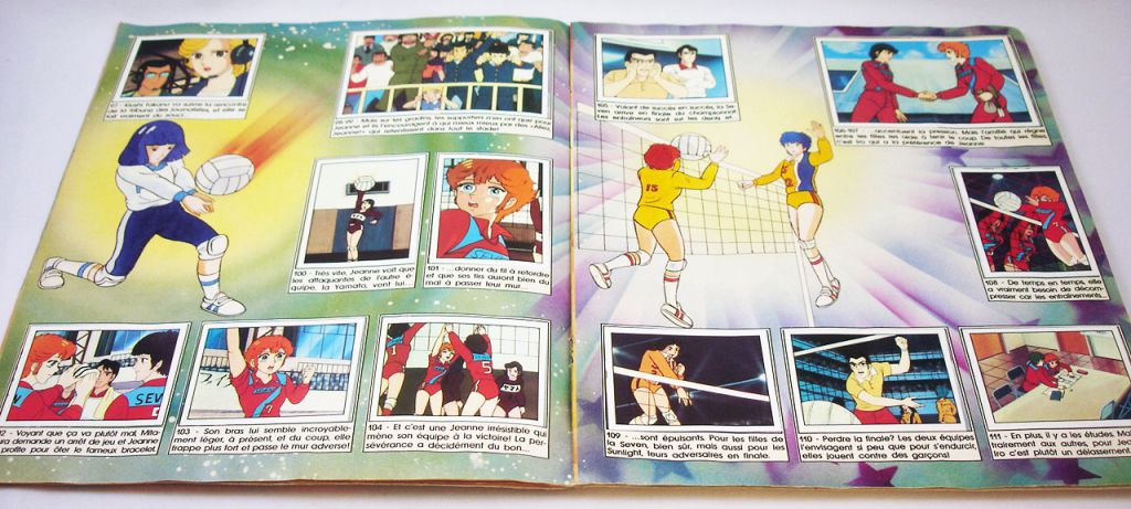 Attacker You! - Panini Sticker Collector Book 1988 (complete)