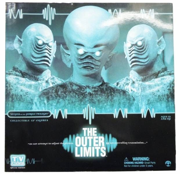Au-delà du réel (The Outer Limits) - Figurines 30cm Sideshow Collectibles - Keeper of the Purple Twilight