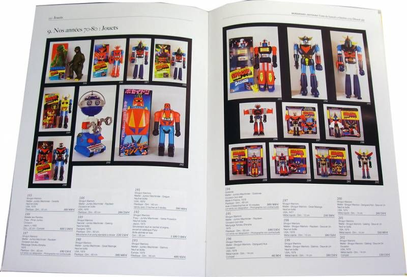 """Auction Catalog \'\'1960-1980 Toys Made in Japan\"""""""