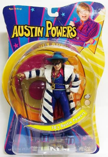 Austin Powers: Goldmenber - Mezco - 70\'s Austin Powers