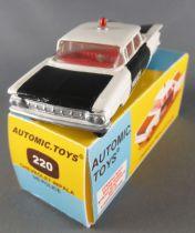 Automic. Toys 220 Base Corgi - Chevrolet Impala US Police Proche Neuf Boite 1/43