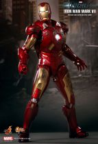 "Avengers - Iron Man Mark VII - 12"" figure Hot Toys Sideshow MMS 185"