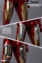 "Avengers - Iron Man Mark VII - 12\"" figure Hot Toys Sideshow MMS 185"