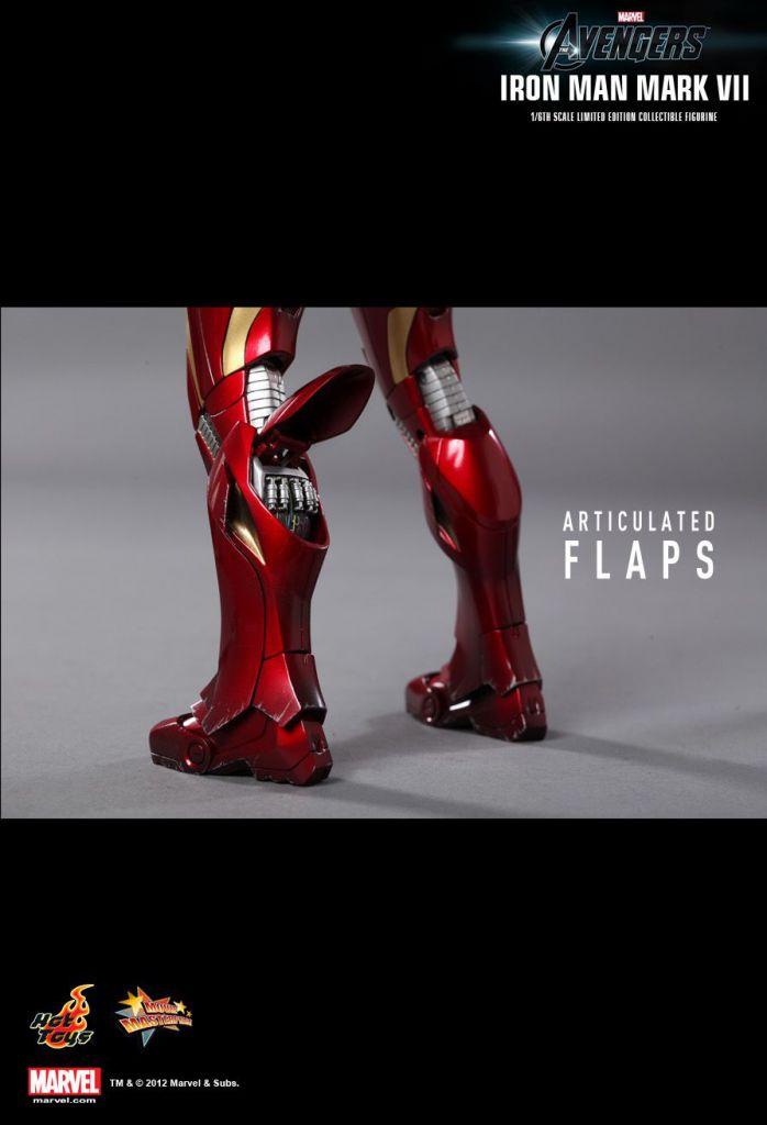 Avengers - Iron Man Mark VII - Figurine 30cm Hot Toys Sideshow MMS 185