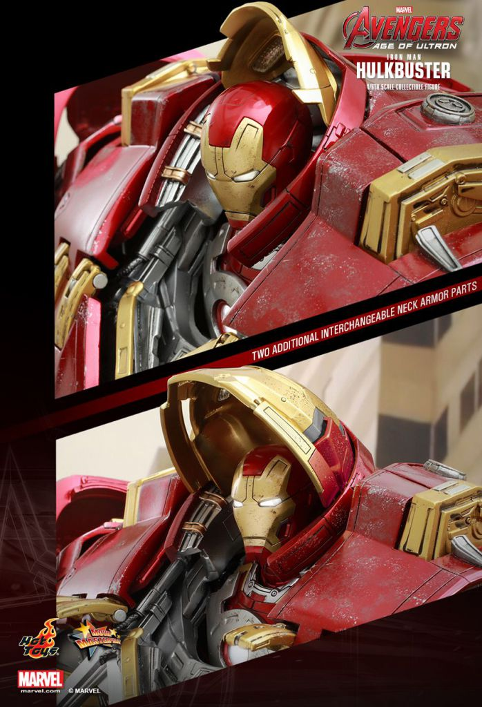 "Avengers Age of Ultron - Iron Man Hulkbuster - 21"" figure Hot Toys Sideshow MMS 285"
