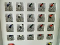 Avespace - Tous pour un Maillot - Board Game 21 Metal cyclists Mint in Box