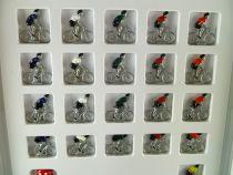 Avespace - Tous pour un Maillot - Jeu Socièté 21 Cyclistes Métal Neuf Boite
