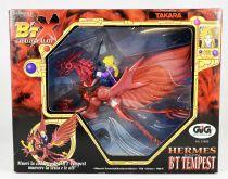 B\'T X (Winged Knights) - GIG Takara - Hermes avec B\'T Tempest