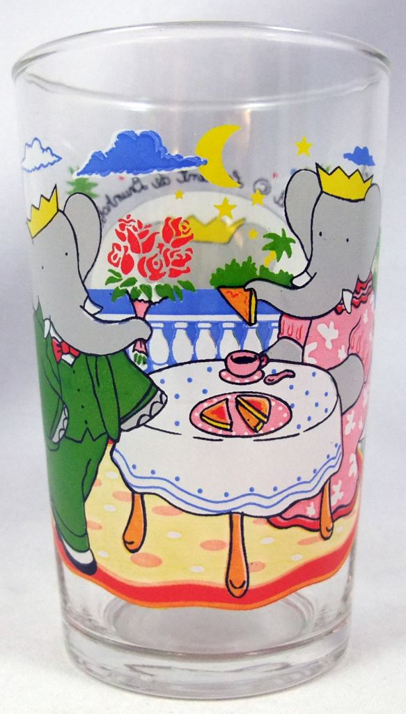 Babar - Amora Mustard Glass - Moonlight dinner
