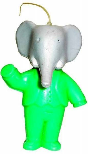 Babar - Mirror Plastic Mascot