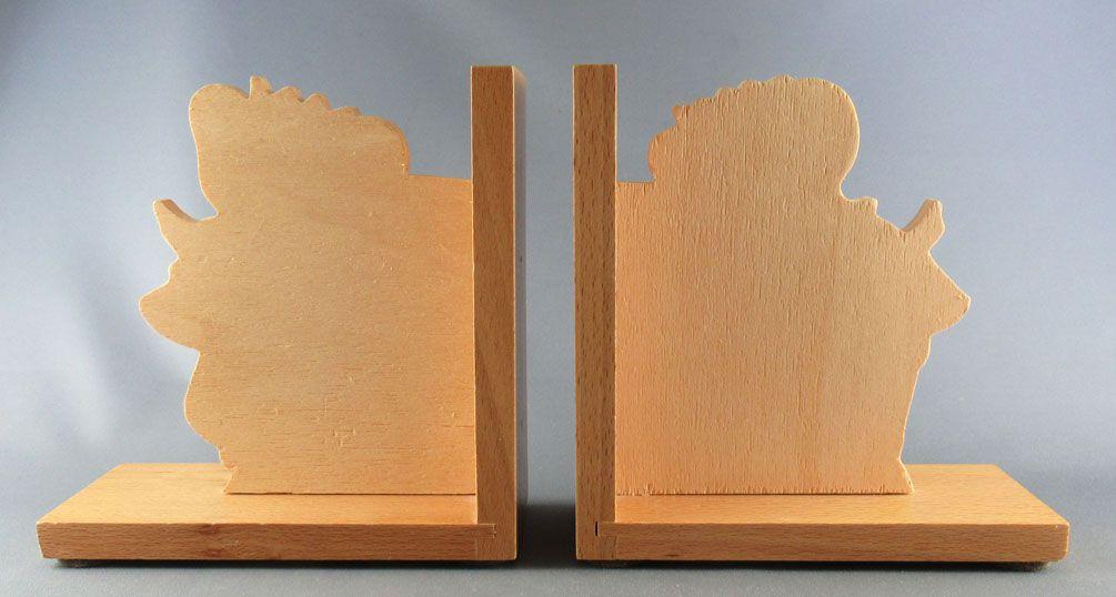Babar - Vilac Wooden Money-Book Ends Babar & Celeste