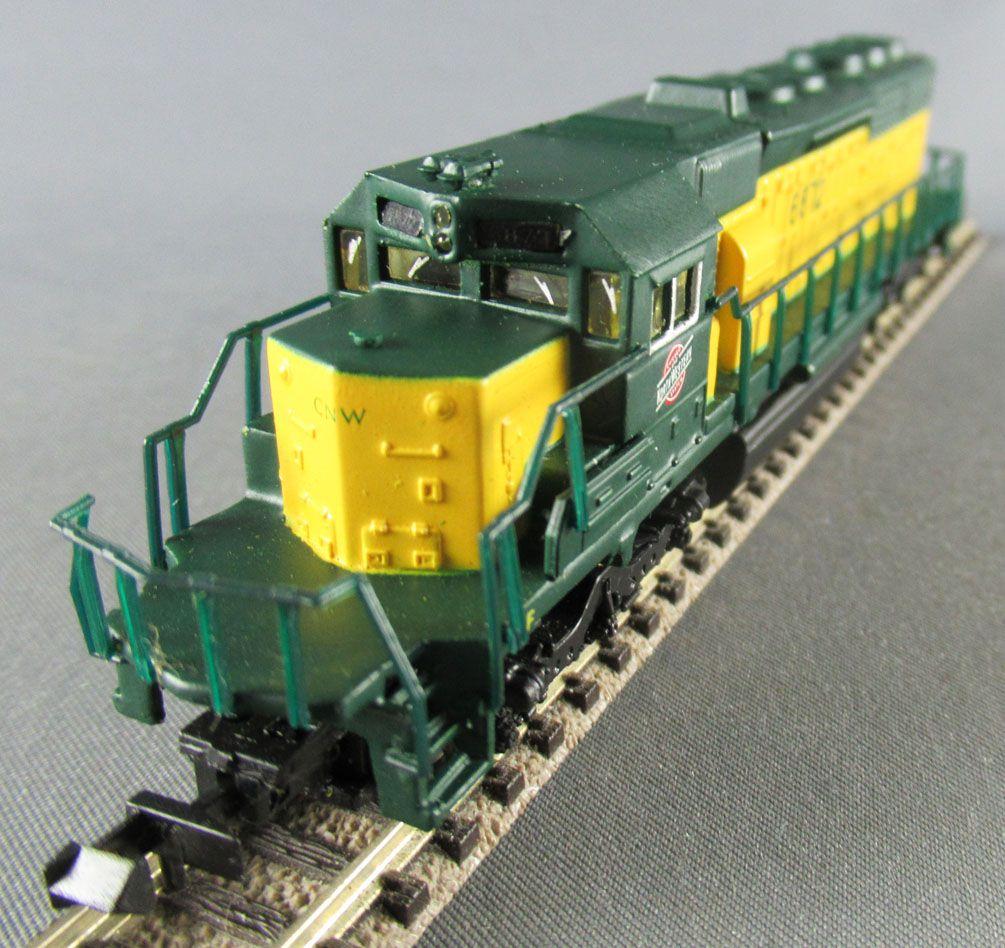 Bachmann Spectrum 85058 Ech N Chicago & Northwestern Usa Locomotive Diesel SD 40-2 N°6872 Eclairage Boite