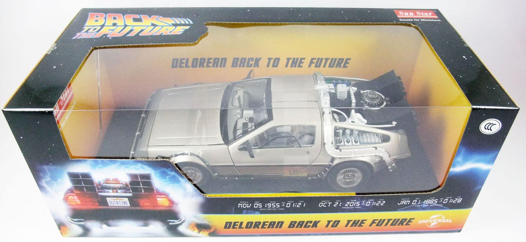 Back to the Future Part.I - Sun Star - Delorean Time Machine