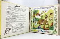 Bambi - Livre-Disque 33T Le Petit Ménestrel (1955) - Histoire racontée par François Périer
